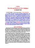J. B. S.: The Life and Work of J.B.S. Haldane