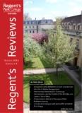 October 2012 Edution 4.1 - Regent's Park College