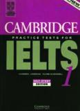 Cambridge Practice Tests for IELTS 1 Vanessa Jakeman Clare McDowell C AMBRIDGE