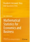 Mathematical Statistics for Econometrics and Business - Springer