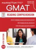Guide 7 - Reading Comprehension 6th Edition GMAT Manhattan Prep
