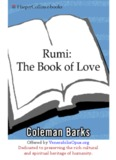 Rumi: The Book of Love - Poems of Ecstasy and Longing