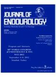 26, Supplement 1 • September 2012 Journal EndoUrology