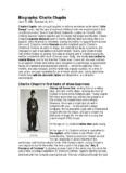Biography: Charlie Chaplin