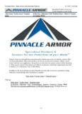 Pinnacle Armor - Body Armor and Armoring Products.