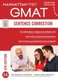 Guide 8 - Sentence Correction 6th Edition GMAT Manhattan Prep