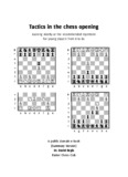 Tactics in the chess opening - Exeter Chess Club