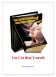 You Can Heal Yourself - The eBook Directory