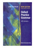 John Eastwood -- Oxford Practice Grammar with Answers