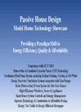 Passive House Design - Building Safety Division