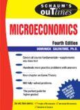 Schaum's Outline of Microeconomics, 4th edition (Schaum's Outline Series)
