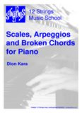 Scales, Arpeggios and Broken Chords for Piano
