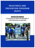 resistance and prevention program (rapp)