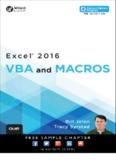 Excel® 2016 VBA and Macros - pearsoncmg.com