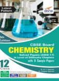 CBSE Board Class 12 Chemistry: solved papers 2008-2017 in level of difficulty chapters with 3