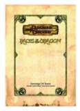 Races of the Dragon (Dungeons & Dragons Supplement)