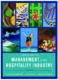 Introduction to Management in the Hospitality Industry, Tenth Edition