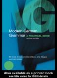 Modern GERMAN Grammar - mercaba.org