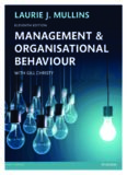 Management & Organisational Behaviour