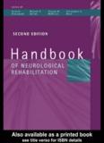 Handbook Of Neurological Rehabilitation Second Edition