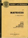 Schaum's Theory & Problems of Matrices