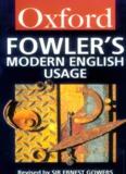 Fowler's Modern English Usage