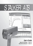 Stalker ATS for Windows Manual - Stalker Radar