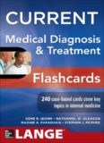 Current Medical Diagnosis and Treatment Flashcards – McGraw-Hill LANGE
