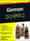German For Dummies, (For Dummies (Language & Literature))