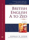 British English a to Zed (Writers Reference) - Home