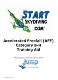 Accelerated Freefall (AFF) Category BH Training Aid