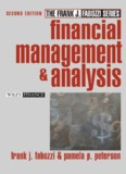 Financial Management and Analysis, 2nd Edition