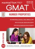 Guide 5 - Number Properties 6th Edition GMAT Manhattan Prep
