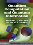 Nielsen M., Chuang I. Quantum Computation and Quantum Information