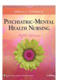 Psychiatric-Mental Health Nursing, 5th Edition