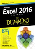 Excel® 2016 ALL‐IN‐ONE For Dummies