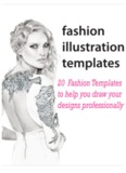 Fashion Figure Templates - Fashion Design course Ebook