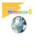 Nelson Mathematics 6 ISBN13