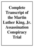 Complete Transcript of the Martin Luther King, Jr