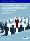 Cases on Management and Organizational Behavior in an Arab Context (Advances in Logistics