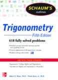 Schaum's Outline of Trigonometry, 5th Edition: 618 Solved Problems + 20 Videos (Schaum's Outlines