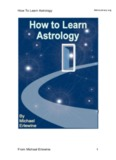 How To Learn Astrology From Michael Erlewine 1