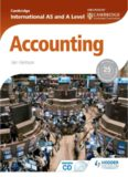 Page 1 Cambridge ENDORSED EY ... CAMBRIDGE International AS and A Level ºf Accounting |an ...