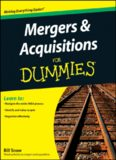 Mergers and Acquisitions for Dummies