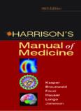 Harrison's Manual of Medicine 16th Edition