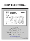 TOYOTA ELECTRICAL WIRING DIAGRAM - Automotive Training and