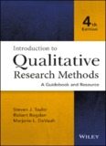 Introduction to Qualitative Research Methods