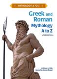 Greek and Roman Mythology, A to Z