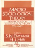Perspectives on Sociological Theory, Vol. 1: Macro-Sociological Theory