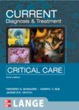 Current Diagnosis & Treatment : Critical Care